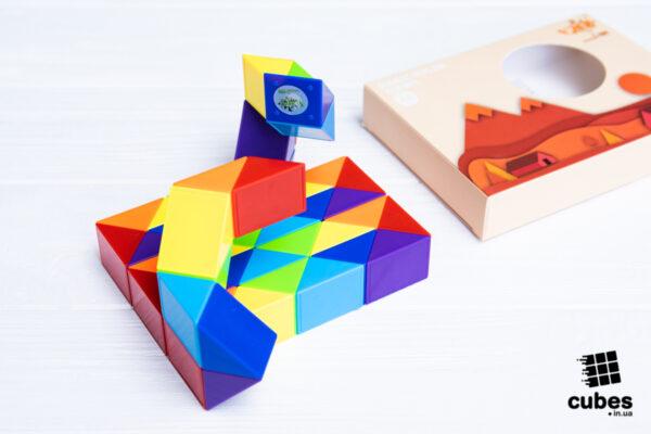 Змейка радужная PuzzleCube на 48 элементов