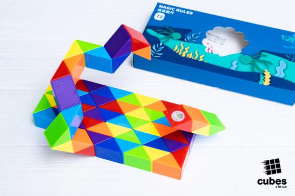 Змейка радужная PuzzleCube на 72 элемента