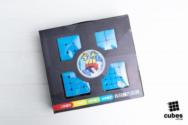 Набор головоломок SS Legend 2x2-5x5 (без наклеек)