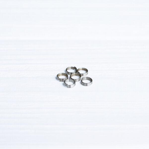 Металлические кольца для хвостовика 6 шт.