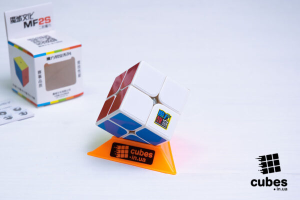 Кубик 2x2 MF2S (белый пластик)