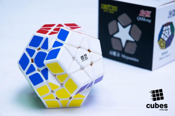 Qiyi Qiheng Megaminx (белый пластик)