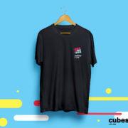 Футболка именная (cubes.in.ua черная)
