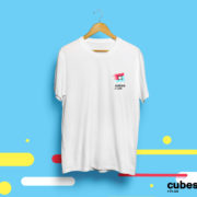 Футболка именная (cubes.in.ua белая)