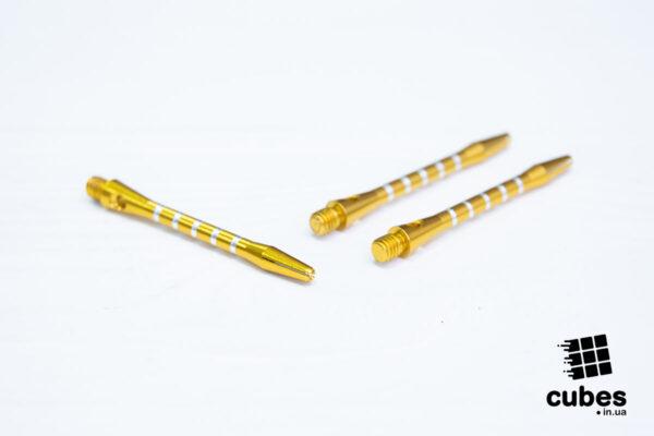 Хвостовик из алюминия (желтый, 3 шт.)