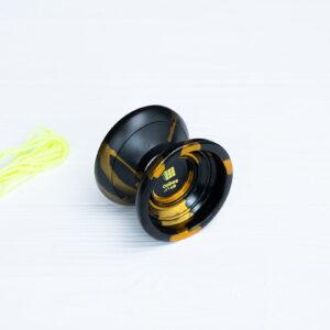 Йо-йо «Black gold» от Cubes (алюминий)