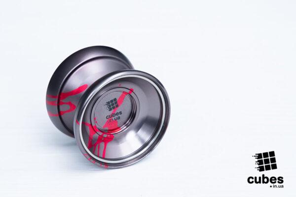 Йо-йо «Blood tornado» от Cubes (алюминий)