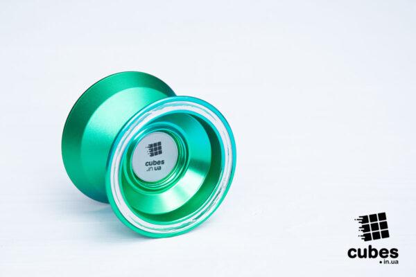 Йо-йо «Green wave» от Cubes (алюминий)