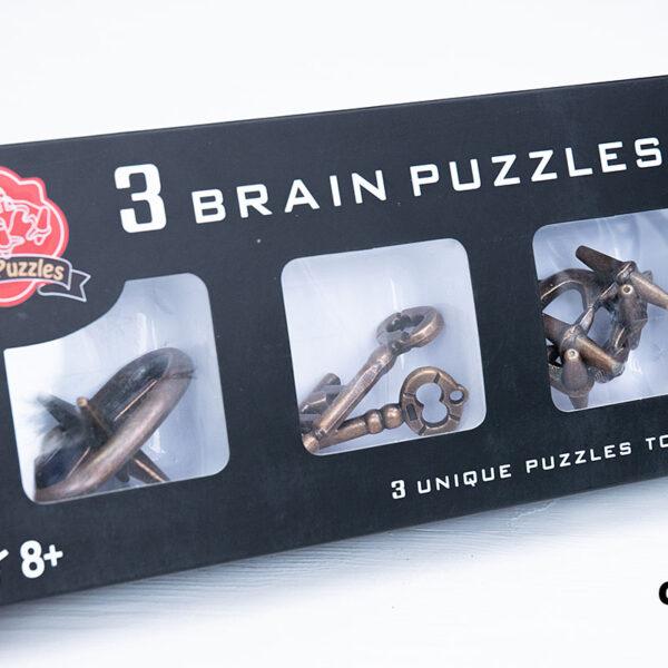 Набор металлических головоломок (3 шт.)