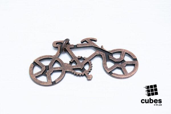 Металлическая головоломка «Велосипед»