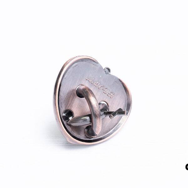 Металлическая головоломка «Love lock»