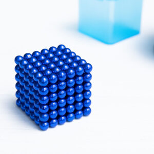 НеоКуб синий (5 мм.) 216 шариков