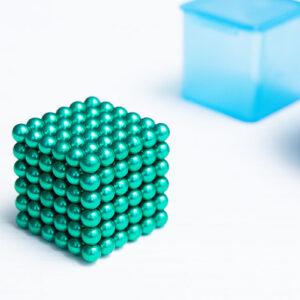 НеоКуб зеленый (5 мм.) 216 шариков
