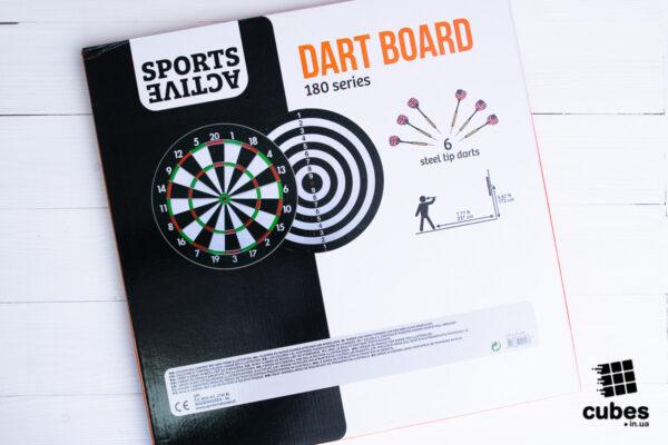Качественный набор дартс Active Sports «180 series»