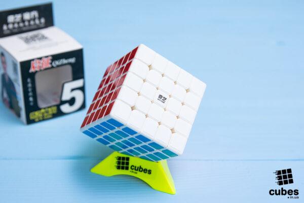 Кубик 5x5 Qiyi QIZHENG (белый пластик)