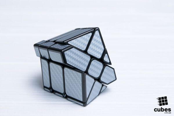 Зеркальный кубик Mirrior Windmill серый карбон
