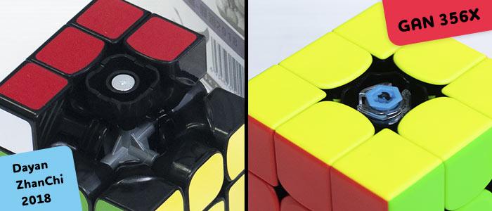 Сравнение дешевого и дорогого кубика Рубика