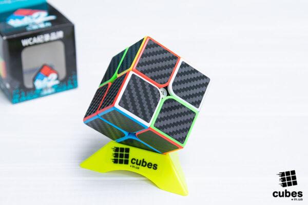 Кубик Meilong 2x2 carbon