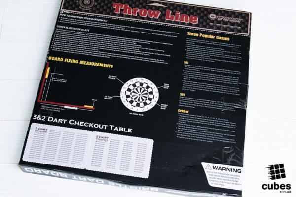 Доска для дартс из сизаля Winmax Classic (+6 дротиков)