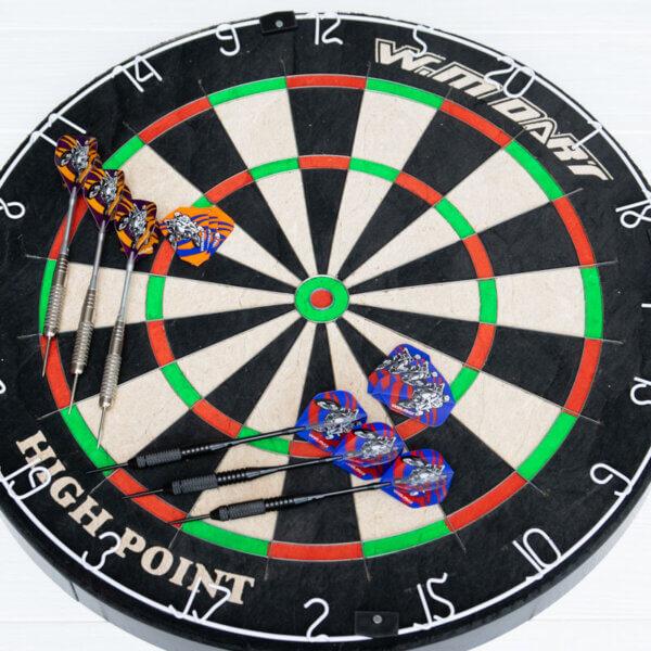 Профессиональный дартс из сизаля Winmax Match Play (+6 дротиков 24+ грамма)