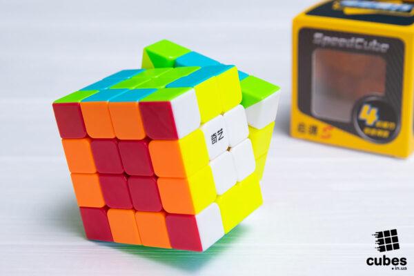 Кубик 4x4 Qiyi Yuan без наклеек