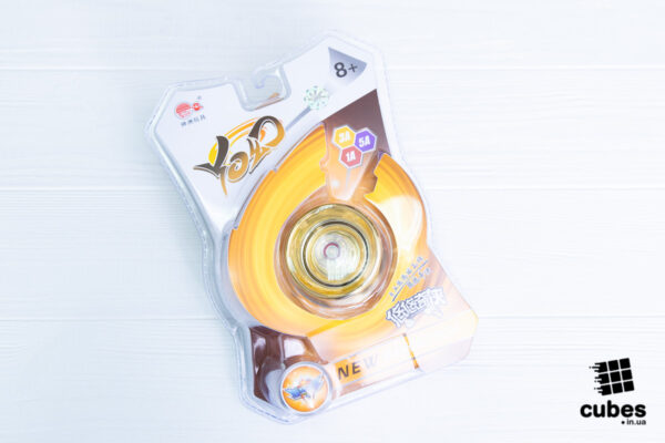 Йо-йо для новичков Cyclone Boys золотое (пластик+металл)