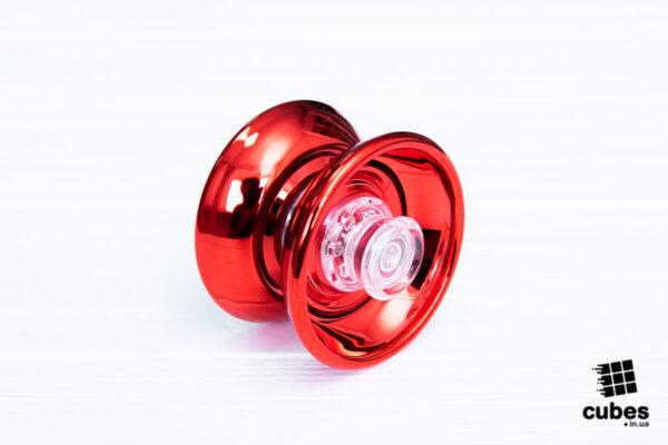 Йо-йо для новичков Cyclone Boys красное (пластик+металл)