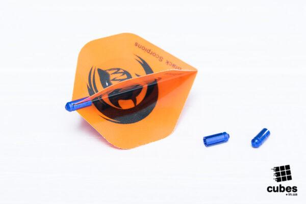 Защита для оперения из алюминия (3 шт.) цвет синий