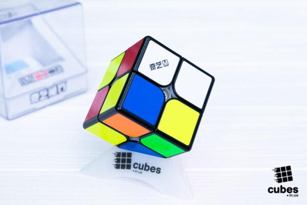 Кубик Рубика QiYi MS 2x2 (черный пластик)