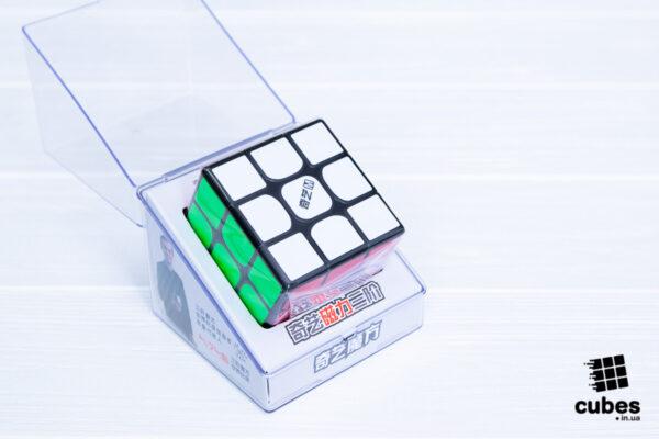 Кубик Рубика QiYi MS 3x3 (черный пластик)