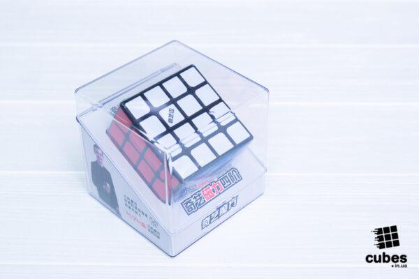 Кубик Рубика QiYi MS 4x4 (черный пластик)