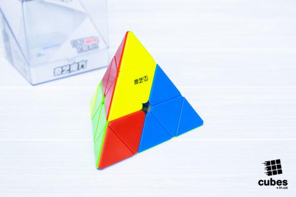 QiYi MS Pyraminx без наклеек