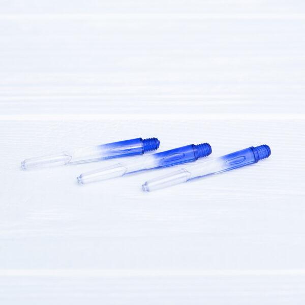 Хвостовик пластиковый синий 40 мм (3 шт.) + 3 кольца