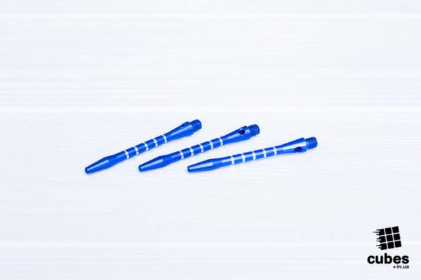 Хвостовик из алюминия (синий, 3 шт.)