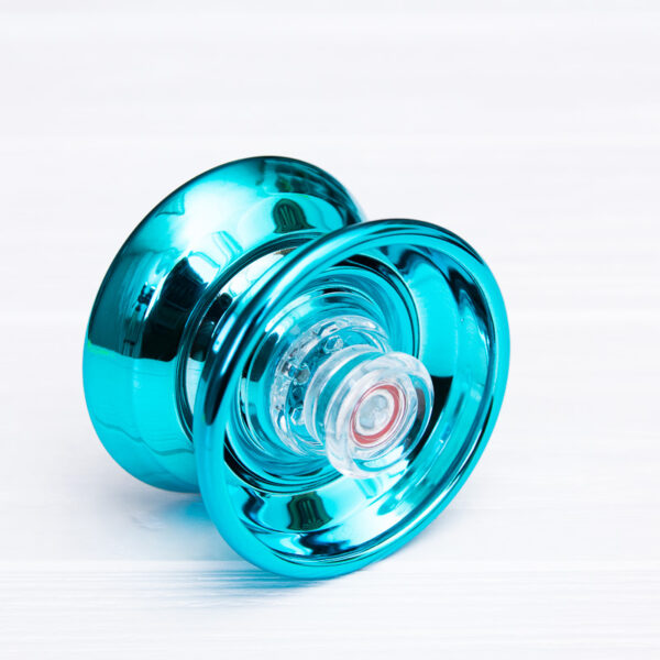 Йо-йо для новичков Cyclone Boys голубое (пластик+металл)
