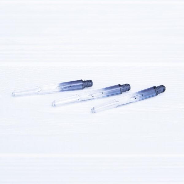 Хвостовик пластиковый черный 40 мм (3 шт.) + 3 кольца