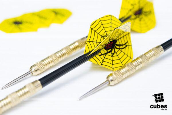 Легкие дротики «Spider» 3 шт. (+3 оперения)