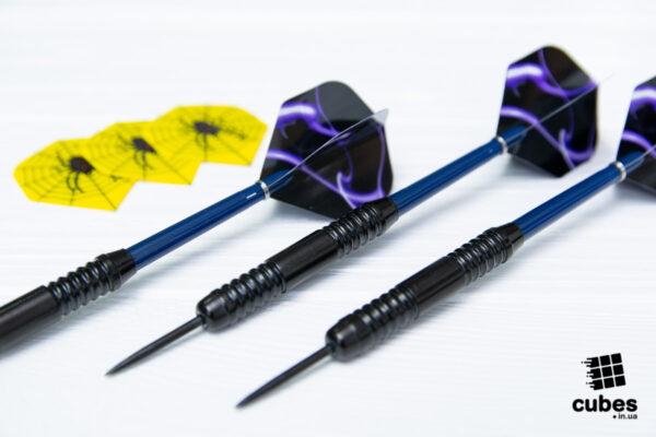 Продвинутые дротики «Purple Smoke» 3 шт. (+ аксессуары)