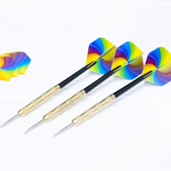 Легкие дротики «Color Twist» 3 шт. (+3 оперения)