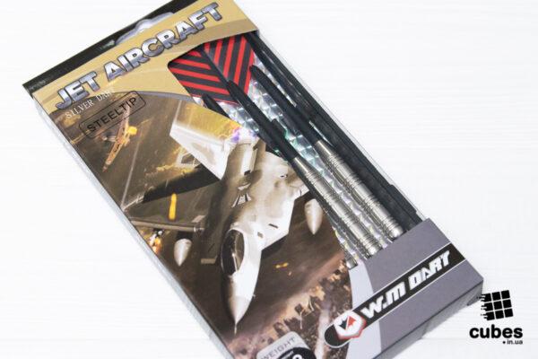 Набор дротиков Winmax «Jet Aircraft» silver (23 грамм)
