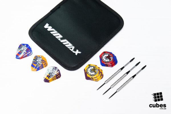 Дротики для дартс из вольфрама Winmax (80%) (+15 оперений и сумочка)