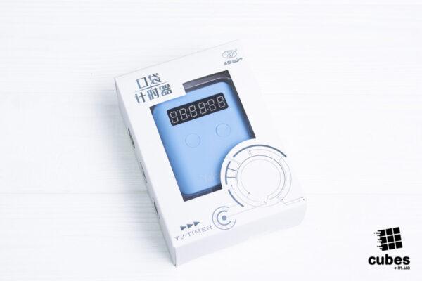 Таймер для спидкубинга YJ Pocket Timer голубой