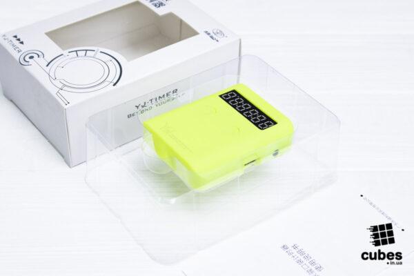 Таймер для спидкубинга YJ Pocket Timer желтый