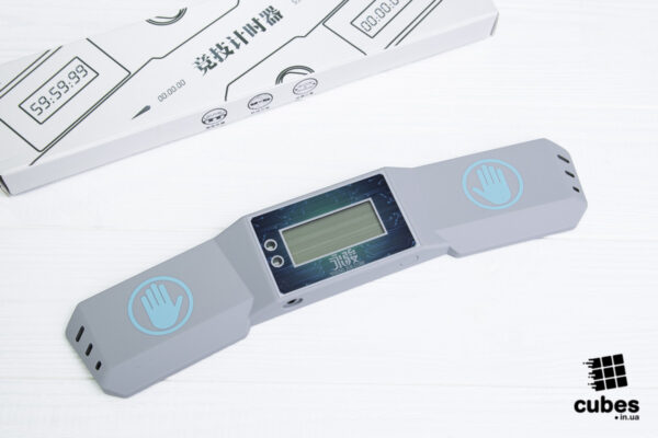 Таймер для спидкубинга YJ Speedcubing Timer серый