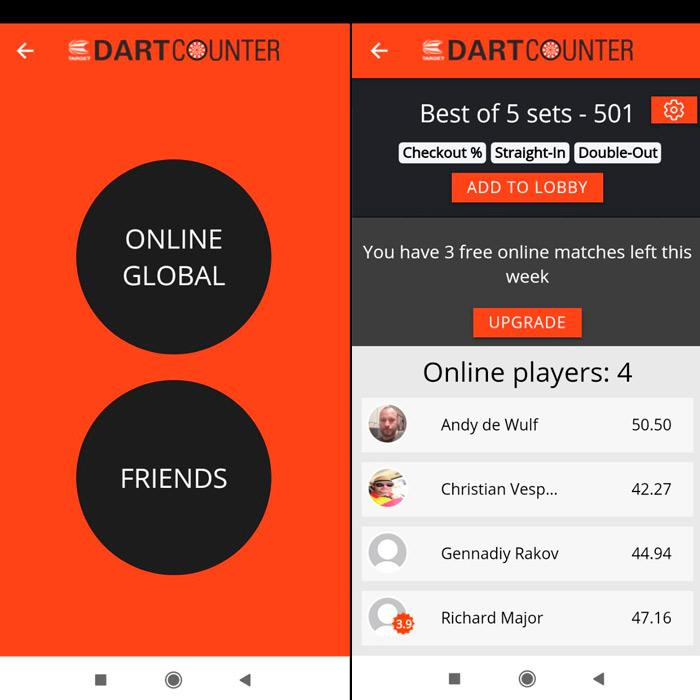 Darts Counter. Приложение для дартс.