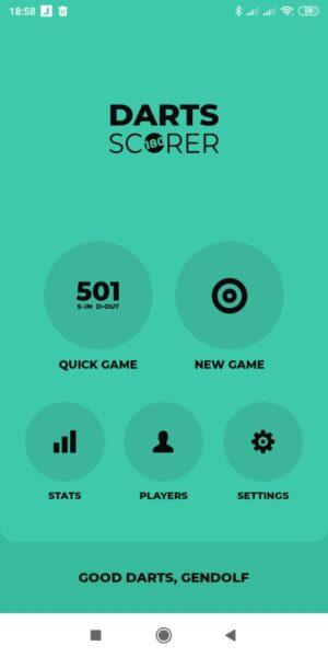 Приложение для дартс Darts Scorer 180
