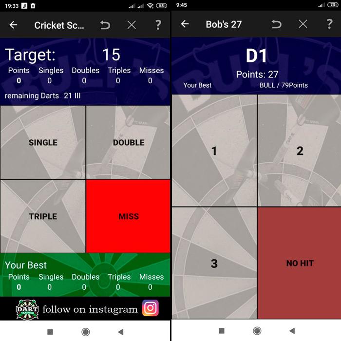 My DART training - приложение для тренировки в дартс.