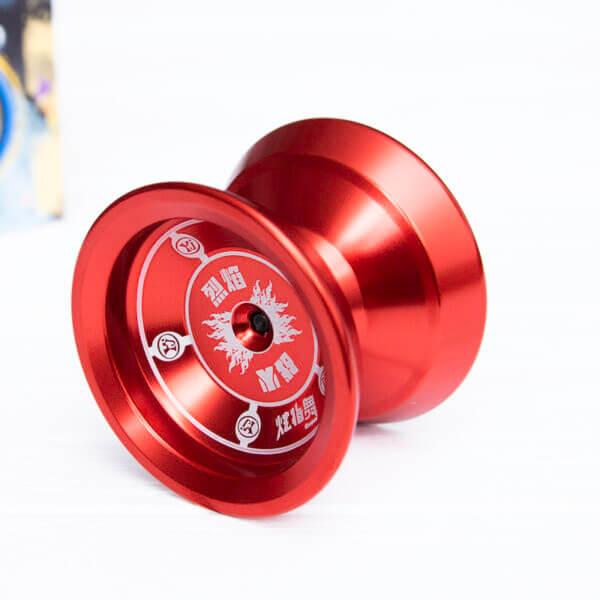 Йо-йо профессиональное «Fin Hop» красное (алюминий)