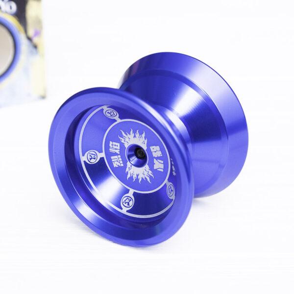 Йо-йо профессиональное «Fin Hop» синее (алюминий)