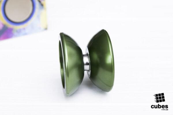 Йо-йо «Fin Hop mini» зеленое (алюминий)